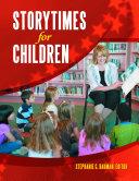 Storytimes For Children Book