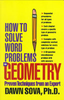 How to Solve Word Problems in Geometry