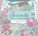 Serenity Adult Coloring Book  31 Stress Relieving Designs