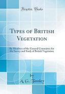 Types of British Vegetation