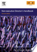 Non executive Director s Handbook Book