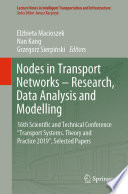 Nodes in Transport Networks     Research  Data Analysis and Modelling