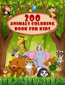 200 Animals Coloring Book For Kids