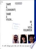 Shape a Community, Share a Vision--