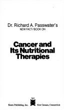 Cancer and its Nutritional Therapies Book