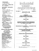 Industrial Water Engineering