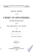 Report of the Chief of Engineers U S  Army Book PDF