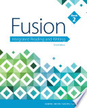 Fusion  Integrated Reading and Writing Book PDF
