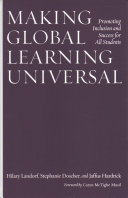 link to Making global learning universal : promoting inclusion and success for all students in the TCC library catalog