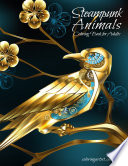 Steampunk Animals Coloring Book for Adults 1