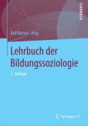 Lehrbuch der Bildungssoziologie
