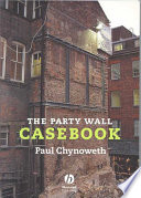 The Party Wall Casebook Book PDF