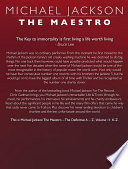 Michael Jackson The Maestro The Definitive A Z Volume II   K Z Book