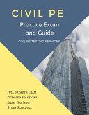 Civil PE Practice Exam and Guide