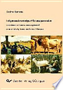 Indigenous Knowledge of Borana Pastoralists in Natural Resource Management