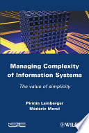 Managing Complexity of Information Systems Book PDF