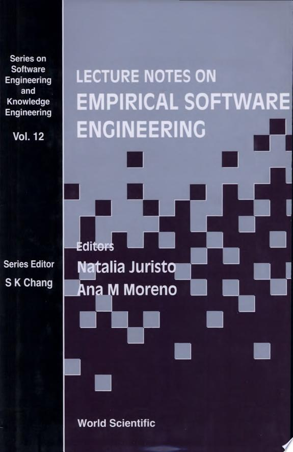 Lecture Notes on Empirical Software
