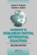 Handbook of Nonlinear Partial Differential Equations, Second Edition
