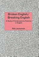 Broken English breaking English