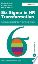 Six Sigma in HR Transformation Book