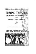 Playing Theatre Book PDF