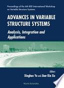 Advances In Variable Structure Systems