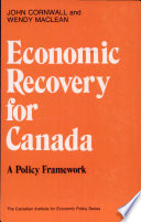 Economic Recovery for Canada