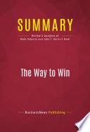 Summary: The Way to Win