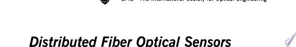 Distributed fiber optical sensors and measuring networks