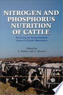 Nitrogen And Phosphorus Nutrition Of Cattle Book PDF