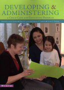 Developing   Administering A Child Care and Education Program Book