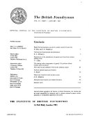 Pdf The British Foundryman