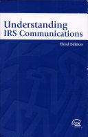 Understanding IRS Communications