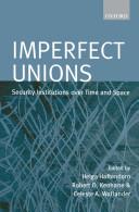 Pdf Imperfect Unions