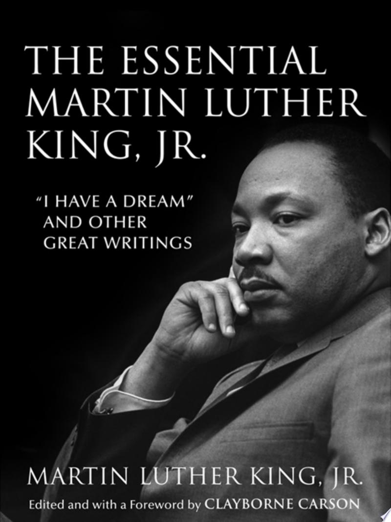 The Essential Martin Luther King, Jr. banner backdrop