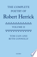 Robert Herrick Books, Robert Herrick poetry book