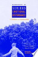 Handbook Of Serious Emotional Disturbance In Children And Adolescents