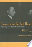 Concerto for the Left Hand Book