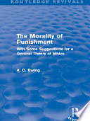 The Morality of Punishment (Routledge Revivals)
