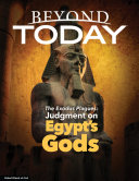 Pdf Beyond Today: The Exodus Plagues: Judgment on Egypt's Gods