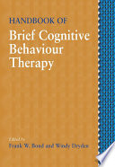 Handbook Of Brief Cognitive Behaviour Therapy Book PDF