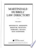 The Martindale-Hubbell Law Directory  , Band 5;Band 9;Band 12;Bände 14-15