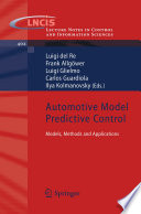Automotive Model Predictive Control Book