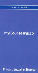 New Mycounselinglab with Pearson Etext -- Standalone Access Card -- For Foundations of Addiction Counseling