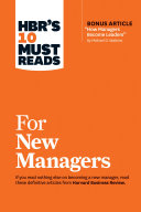 """Pdf HBR's 10 Must Reads for New Managers (with bonus article """"How Managers Become Leaders"""" by Michael D. Watkins) (HBR's 10 Must Reads) Telecharger"""