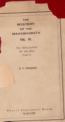 The Mystery of the Mahabharata  Vol 4