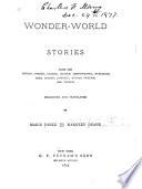 Wonder World Stories Book PDF