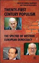 Twenty First Century Populism Book