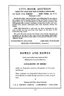 United States Cumulative Book Auction Records