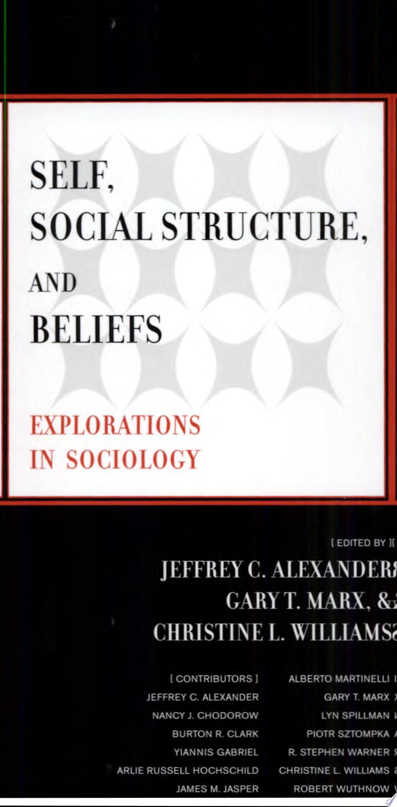 Self  Social Structure  and Beliefs
